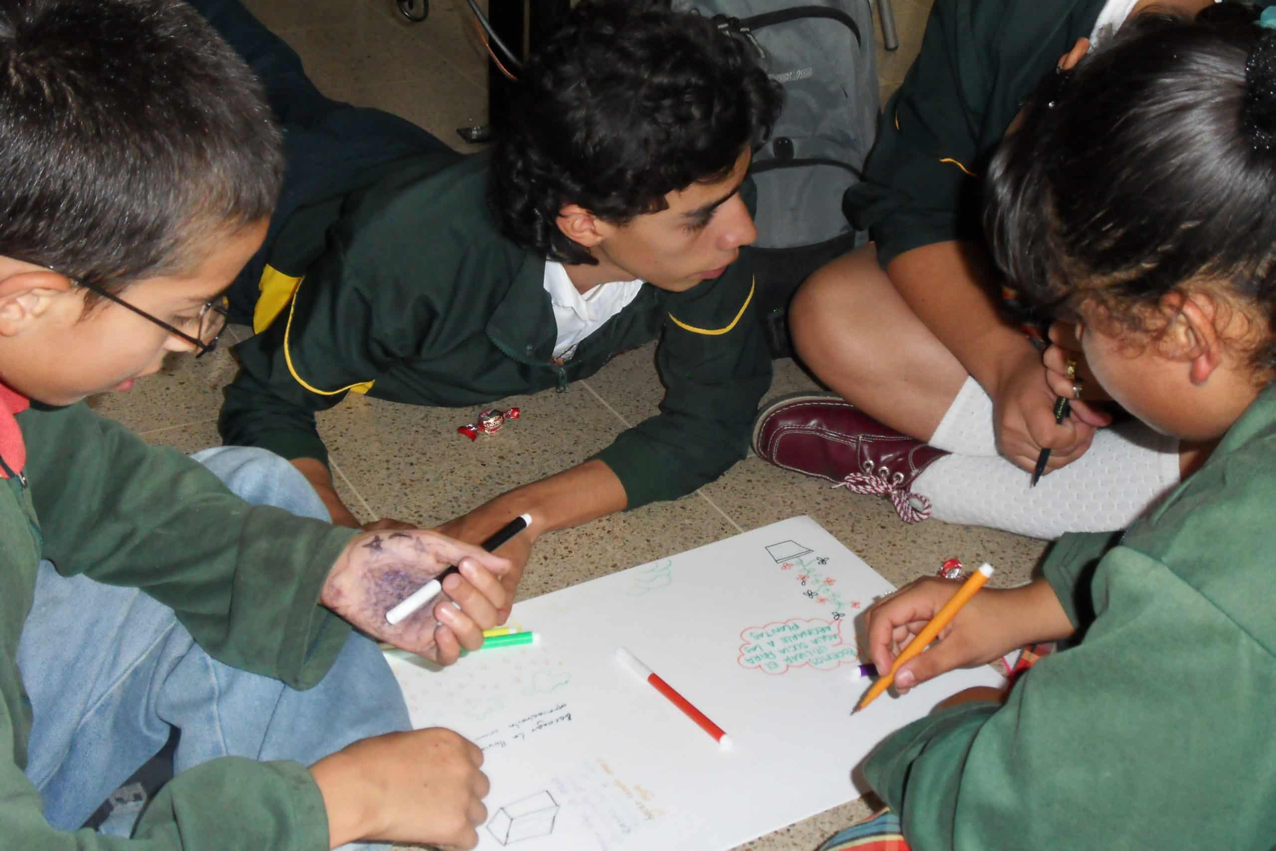 Ideation session with children