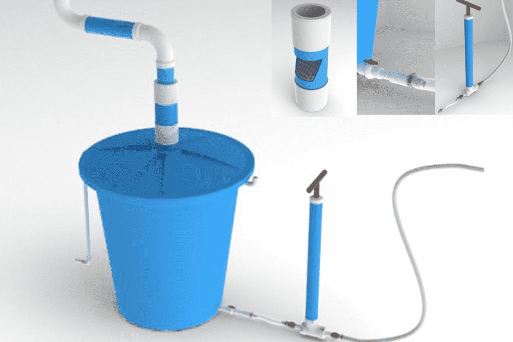 3D model and render of Lluvia Viva